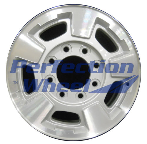 WAO.5500 17X7.5 Sparkle Silver Machined