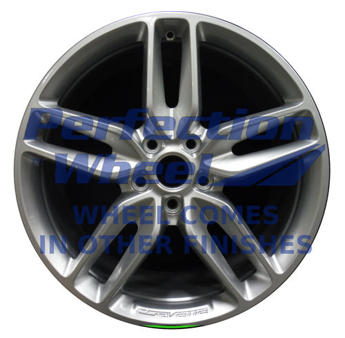 WAO.5635FT 19x8.5 Hyper Bright Silver Full Face