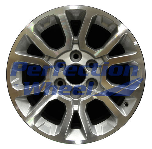 WAO.5649 18x8.5 Sparkle silver Machined