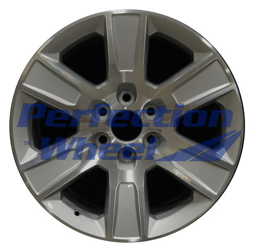 WAO.5650 20x9 Bright Fine Metallic Silver Machined Bright