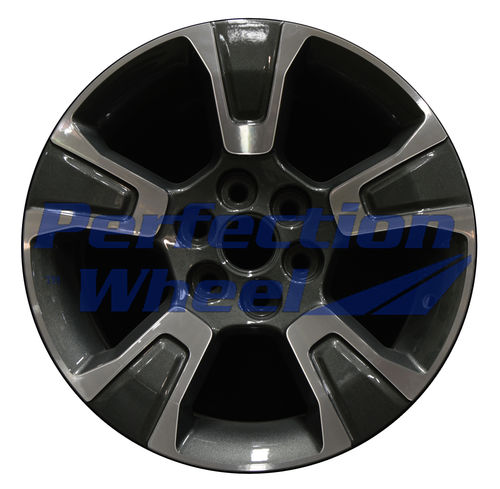 WAO.5671 17x8 Dark Sparkle Charcoal Machined