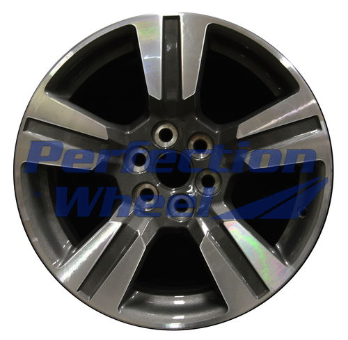 WAO.5673 18x8.5 Medium Charcoal Machined Bright