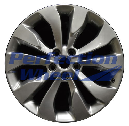 WAO.5718 19x8.5 Hyper Medium Silver Full Face