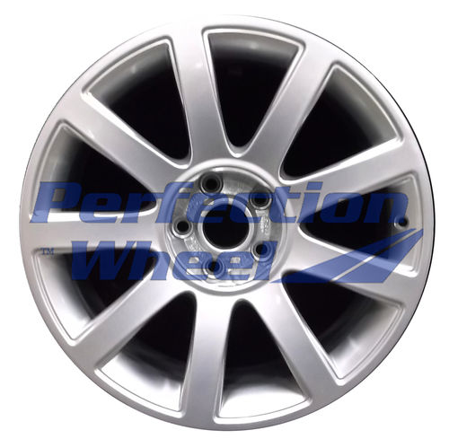 WAO.58770 18x8.5 Hyper Bright Silver Full Face