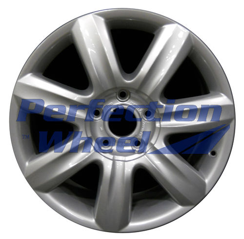 WAO.58805 19x8.5 Bright Fine Metallic Silver Full Face