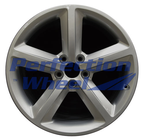 WAO.58825 18x8.5 Hyper Bright Silver Full Face