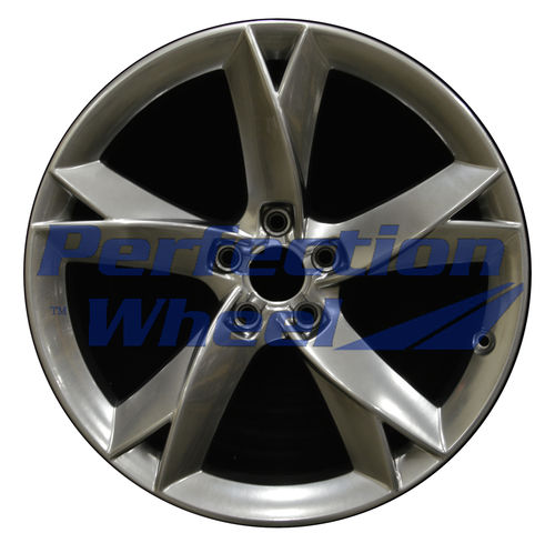 WAO.58827 19x8.5 Hyper Bright Smoked Silver Full Face