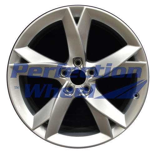 WAO.58827 19x8.5 Hyper Bright Silver Full Face