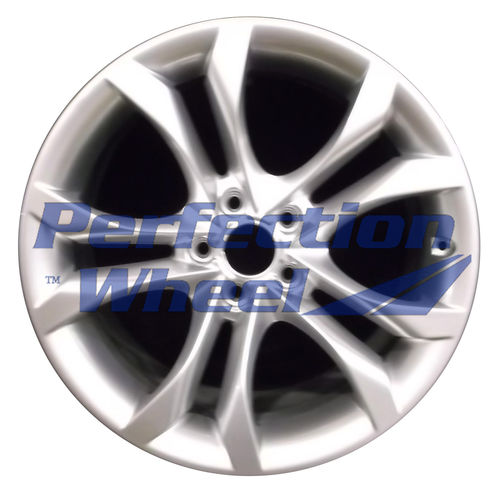WAO.58913 18x8.5 Hyper Bright Silver Full Face