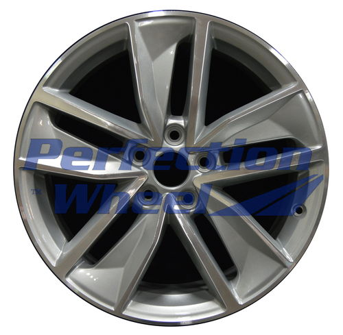 WAO.59018 18x7 Dark Silver Machined Bright