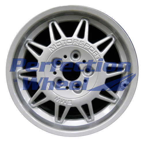 WAO.59202 17x7.5 Bright Fine Metallic Silver Full Face