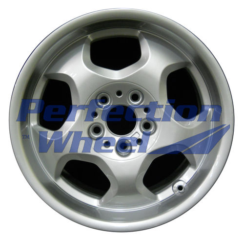 WAO.59231 17x8.5 Bright Fine Metallic Silver Full Face