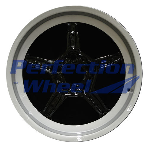 WAO.59237LT 17x8 Silver Flange with Black Face Full Face