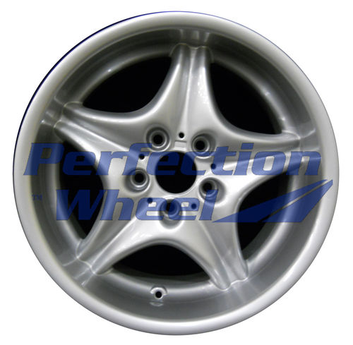 WAO.59263FT 17x7.5 Bright Fine Metallic Silver Full Face