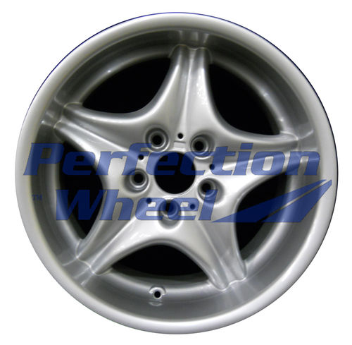 WAO.59264RE 17x9 Bright Fine Metallic Silver Full Face