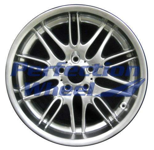 WAO.59323RE 18x9.5 Hyper Bright Smoked Silver Full Face
