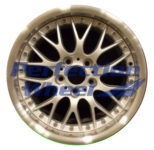 WAO.59357RE 18x9 Bright fine silver Flange Cut