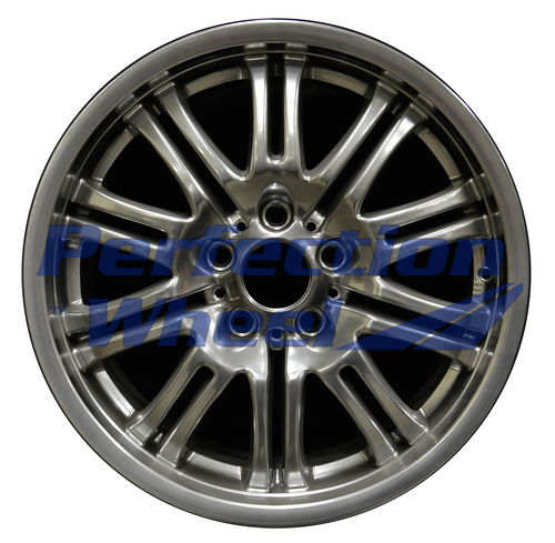 WAO.59367FT 18x8 Hyper Bright Smoked Silver Full Face