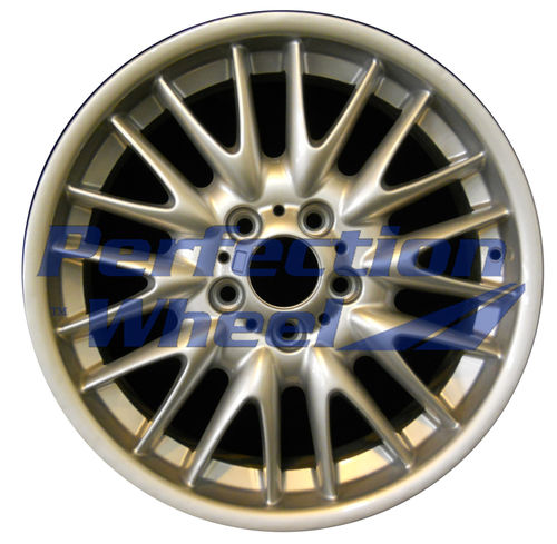 WAO.59382FT 18x8 Bright Fine Metallic Silver Full Face