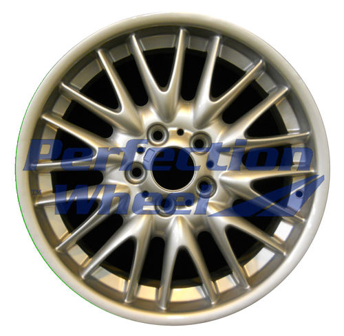 WAO.59383RE 18x8.5 Bright Fine Metallic Silver Full Face