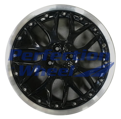 WAO.59405 17x7 Gloss Black Flange Cut