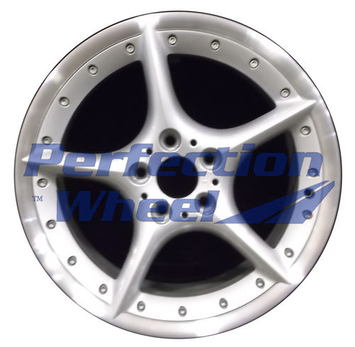 WAO.59420FT 18x8 Bright fine silver Flange Cut