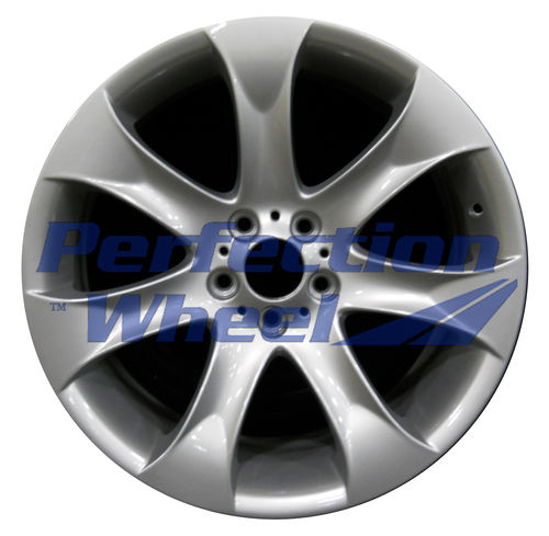 WAO.59486FT 20x9.5 Bright Fine Metallic Silver Full Face