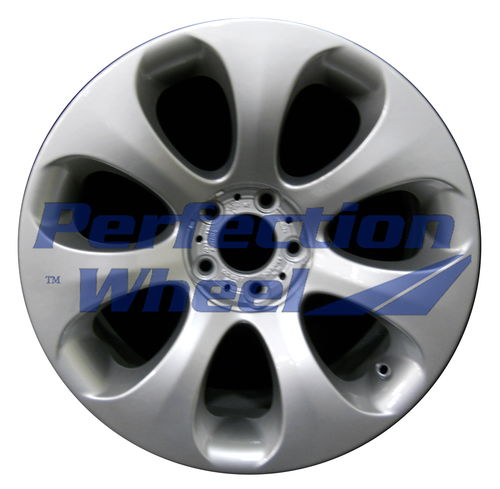 WAO.59493FT 19x8.5 Bright Fine Metallic Silver Full Face