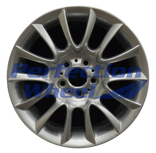 WAO.59576FT 18x8 Hyper Sparkle Silver Gray Base Full Face