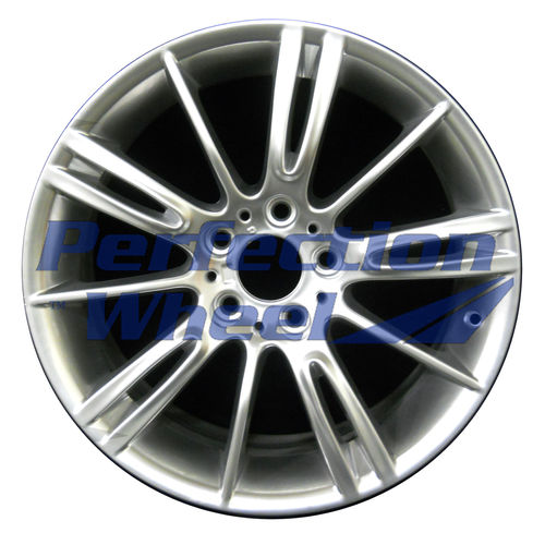 WAO.59591RE 18x8.5 Hyper Bright Mirror Silver Full Face