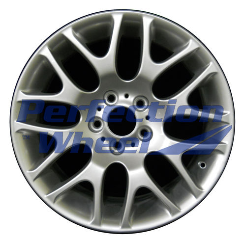 WAO.59621RE 18x8.5 Bright metallic silver Full Face