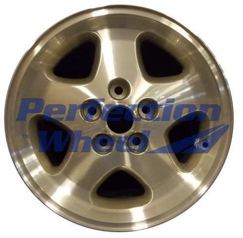 WAO.59681 16x7 Light Silver Textured Machined