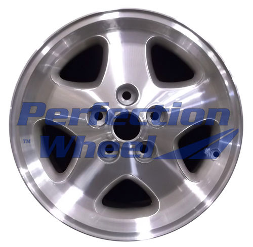 WAO.59682 16x7 Bright Fine Tan Metallic Silver Machined