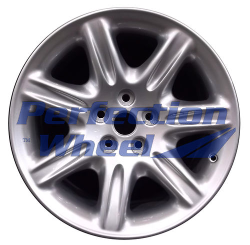 WAO.59690FT 18x8 Bright metallic silver Full Face