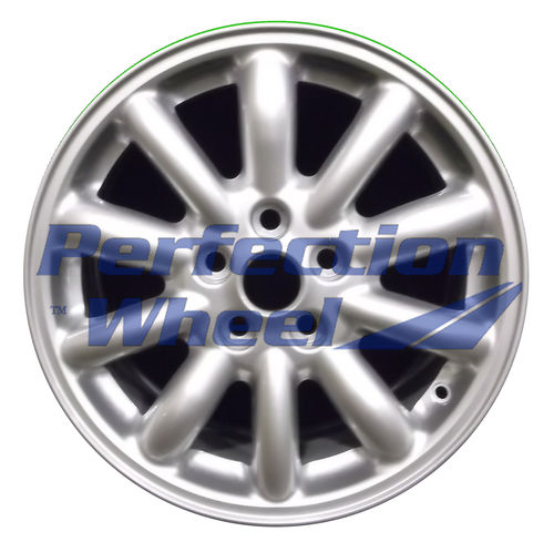 WAO.59702 16x7.5 Bright metallic silver Full Face