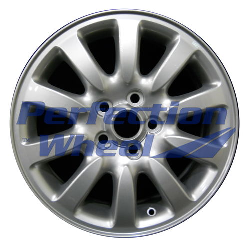 WAO.59712 16x6.5 Bright metallic silver Full Face