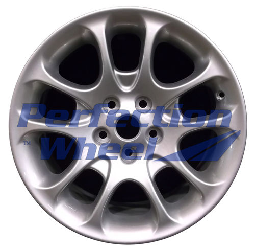 WAO.59713FT 18x8 Bright metallic silver Full Face