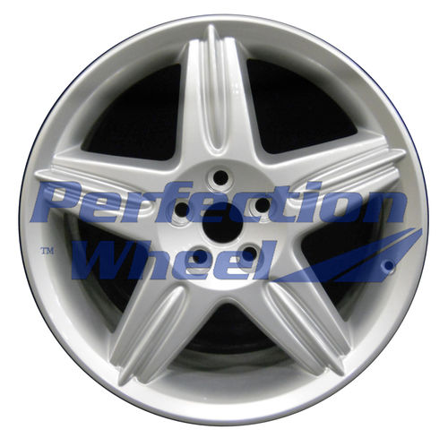 WAO.59774FT 18x8 Bright metallic silver Full Face