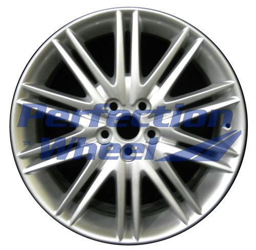 WAO.59785 18x8 Bright metallic silver Full Face