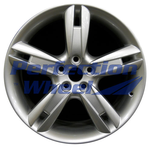 WAO.59787RE 18x9.5 Bright metallic silver Full Face