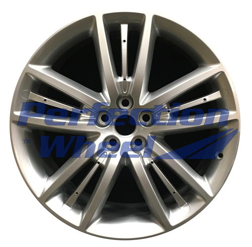 WAO.59840FT 20x8.5 Fine Bright Silver Full Face