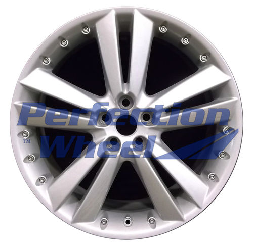 WAO.59858FT 20x8.5 Bright Sparkle Silver Full Face