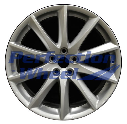 WAO.59869FT 19x9 Sparkle silver Full Face