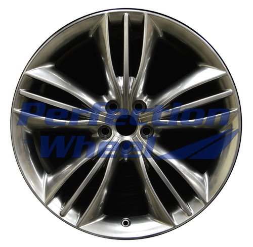 WAO.59871FT 20x9 Hyper Bright Smoked Silver Full Face