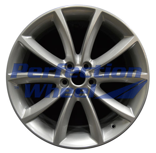 WAO.59904FT 19x8.5 Dark Silver Full Face