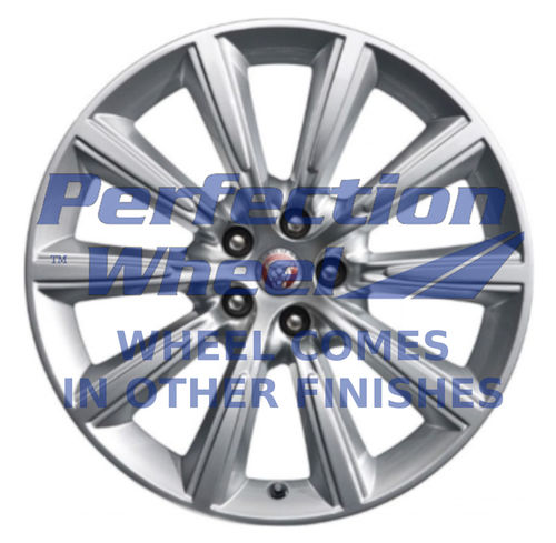 WAO.59907FT 19x8.5 Hyper Bright Silver Full Face
