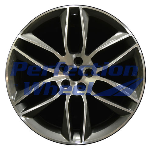 WAO.59914FT 20x9 Medium Charcoal Machined Bright