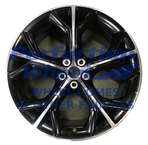 WAO.59919RE 20x10.5 Gloss Black Polish Satin Clear