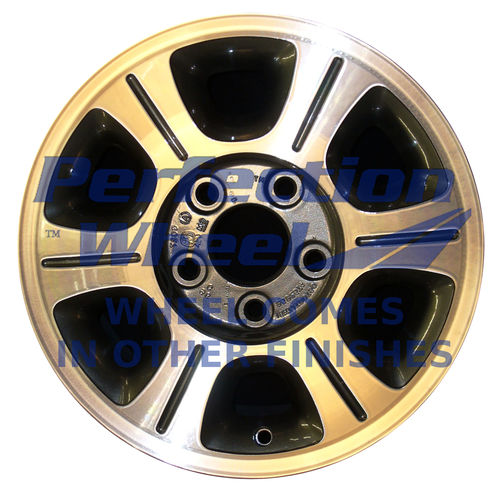 WAO.6020 15x7 Sparkle Gold Machined