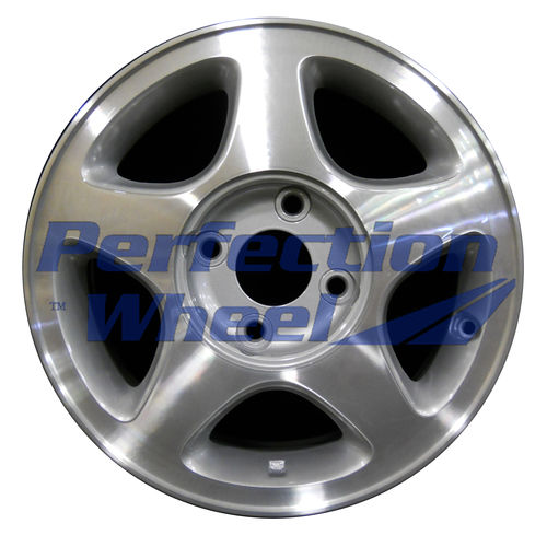 WAO.62303 15x6 Bright fine metallic silver Machined